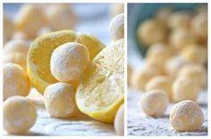 No-Bake White Chocolate Lemon Truffles   27 Delicious Lemon Desserts