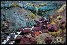 Blue River Falls - John Day National Monument, Oregon, by Adrian Klein