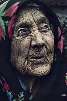 The lines of this face are the lines of the amazing story this life has lived.