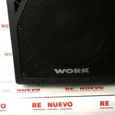 Altavoz amplificado WORK WPL 1A de segunda mano E278321 | Tienda online de segunda mano en Barcelona Re-Nuevo