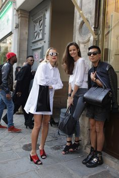 They Are Wearing: Paris Fashion Week - Slideshow