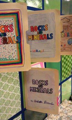 Tales of a Grade 4 Teacher: We Rock! Rocks & Minerals Lapbook