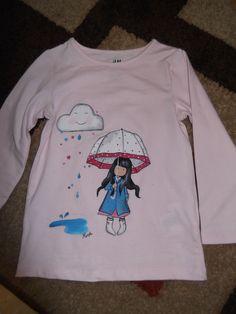 camiseta pintada el rincon los sueños crean magia