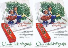 Chesterfield Cigarettes, xmas 1938