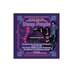 """L'album dei #DeepPurple intitolato """"Concerto For Group And Orchestra""""."""
