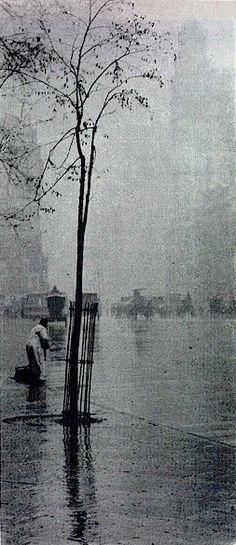 Alfred Stieglitz, Spring Showers, 1900