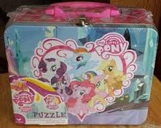 My Little Pony 48 Piece Puzzle with Collectible Lunch Box Tin #MyLittlePony #Puzzles #Collectibles