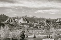 Garden of the Gods, Pikes Peak, Colorado
