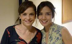 Drica Moraes e Marjorie Stiano   As duas Coras