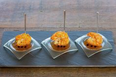 Camarão VM com geléia de pimenta biquinho [ Buffet | Arte Búzios ]