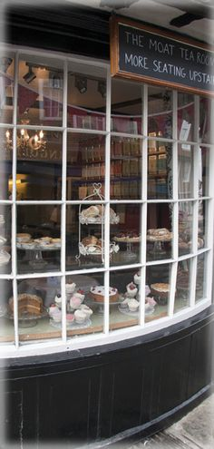 England Travel Inspiration - Moat Tea Rooms - Oldest Tea Rooms in Canterbury, Kent, England Kent England, England And Scotland, Leeds, Boutiques, Canterbury Kent, Cuppa Tea, Lokal, High Tea, Great Britain