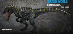 Jurassic World: Suchomimus by Hellraptor
