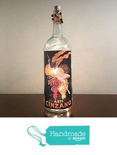 Bottle Lamps, Whiskey Bottle, Free, Amazon, Handmade, Amazons, Hand Made, Riding Habit, Handarbeit