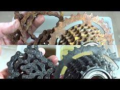How To Clean Rust, How To Remove Rust, Bicycle Maintenance, Bike Chain, Old Bikes, Restaurant, Kids Bike, Bike Frame, Amazing Gardens