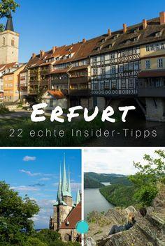 22 Tipps für Erfurt von einem echten Insider. In der Serie Heimatliebe zeigen Einheimische die schönsten Sehenswürdigkeiten und Tipps für ihre Heimatstadt. Erfurt darf da natürlich nicht fehlen.