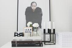 Vaihtelevasti Valkoista / Iittala Aitio / By Lassen Kubus / Vee Speers / Muuto Silent / Hay Lassi, Vignettes, Honey, Interior, Style, Indoor, Interiors