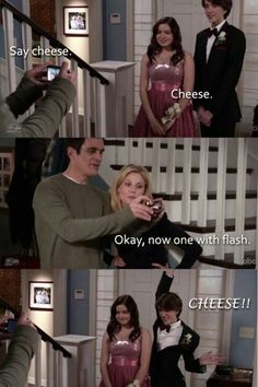 One of my favorite shows of all time and with fall coming up that means a whole new season of the Dunphys, espcially Phil show is the life blood of the show. Enjoy these Modern Family TV Quotes. See more modern family quotes. Modern Family Funny, Modern Family Quotes, Movies Quotes, Tv Quotes, Epic Quotes, Funny Movies, Friday Funny Pictures, Prom Pictures, Family Pictures