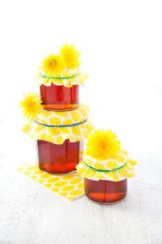 100 % Végétal: Gelée de fleurs de pissenlit : le miel vegan fait maison ! // A homemade vegan alternative to honey : dandelion jelly !