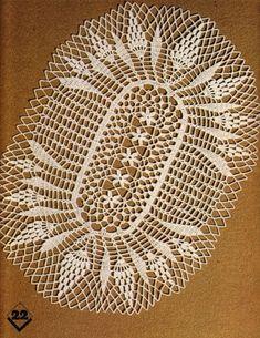 """Foto vom Album """"Zerlegt in die Magie des Strickens auf Yandex. Irish Crochet Patterns, Crochet Chart, Thread Crochet, Filet Crochet, Crochet Home, Love Crochet, Crochet Table Runner Pattern, Crochet Dollies, Crochet Magazine"""