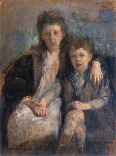 Olga_Boznanska - Portret Dzieci, 1907