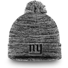 be741d09bb0 New York Giants NFL Pro Line by Fanatics Branded Tonal Cuffed Knit Hat With  Pom -
