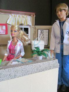 Barbie Hospital Custom Made - Must see, search Ebay, username BargainFancy
