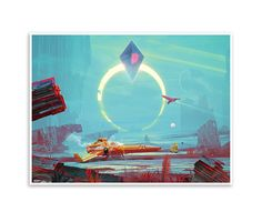 Eclipse Giclée Print (No Man's Sky)