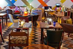 Visit one of the most eccentric dining venue in London. Sketch Gallery Restaurant in Mayfair envisioned by Turner Prize winner Martin Creed. You will find various Neoz cordless lamp among other very interesting pieces in this eccentric space.