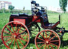 Four-wheeled dog cart