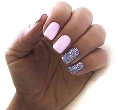 Pink gel nails, acrylic short square nails design for summer nails, frenc. Short Square Acrylic Nails, Short Square Nails, Nails Short, Square Nail Designs, Short Nail Designs, Cute Nails, Pretty Nails, Pink Gel, Nagellack Design
