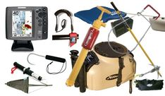 Typical Kayak Fishing Accessories