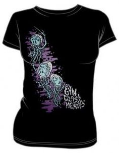 Gym Class Heroes Girls T-Shirt - Catch Me If You Can