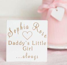 79ee6eaca934 Daddy (Grandad s) Little Girl Mini Desk Block From abeautifulsign.co.uk Mini