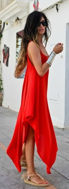 Cute one color dresses for for your Summer Street