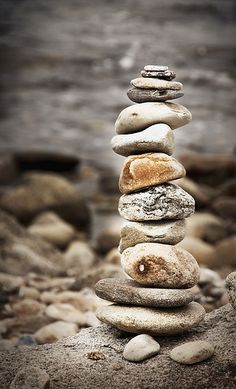 along the beaches of block island you can find many sculptures made by stacking rocks. Rock Sculpture, Sculptures, Stone Balancing, Pictures Of Rocks, Stone Cairns, Balanced Rock, Rock Art, Zen Rock, Balance Art