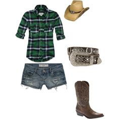 Potential Rodeo outfit I'm alil bit country Southern Girl Style, Country Girl Style, Country Fashion, Rodeo Outfits, Chic Outfits, Summer Outfits, Girl Outfits, Country Girls Outfits, Summer Accessories
