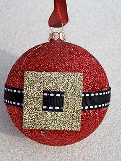 Santa Ornament!