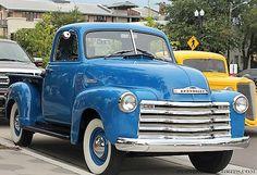 Stock Vintage Chevy Pickup