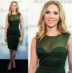 Scarlett Johansson Attends Moet Chandon 250 Anniversary In Moscow