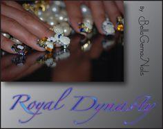"""Royal Dynasty"" 4D By BellaGemaNails"