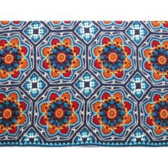 Persian Tiles deken los patroon Nederlandse vertaling
