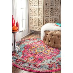 www.allmodern.com Bungalow-Rose-Loughlam-Pink-Area-Rug-BNGL7292-BNGL7292.html