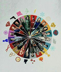 DCCU The Flash, Arroe, Supergirl, LOT...