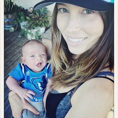 "Baby Talk!: Jessica Biel Gets Candid About Pregnancy Rumors — ""I Have a Gut Apparently"""