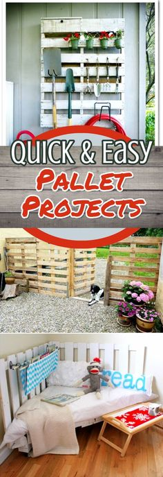 Pallet Ideas and Pallet Projects - Easy DIY Pallet Projects with Instructions - Unique Pallet Ideas To Make #palletprojects #diyideas #diyprojects