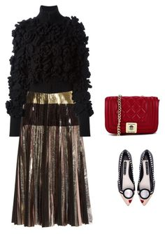 """""""'40"""" by abbey-ceee ❤ liked on Polyvore featuring Proenza Schouler, Alice + Olivia, Chanel, Love Moschino and vintage"""
