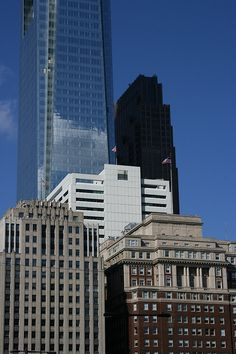 Three Generations of Skyscrapers - Philadelphia, PA