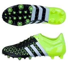 new product 08320 a6f67 adidas Ace 15.1 Firm Ground Football Boots Yellow, Yellow Futbol,  Zapatillas, Botas,