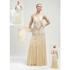 Flapper wedding dresses | Pin it Like Image | Flapper and soot ...