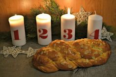Christmas Sweets, Something Sweet, Pillar Candles, Desserts, Advent, Thermomix, Tailgate Desserts, Deserts, Postres